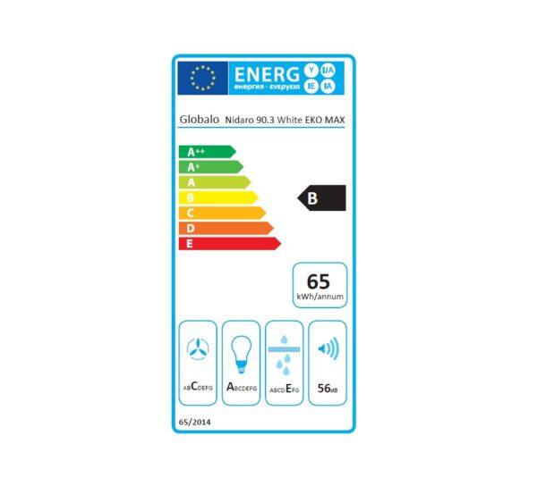 Nidaro-90-white-etykieta-energetyczna