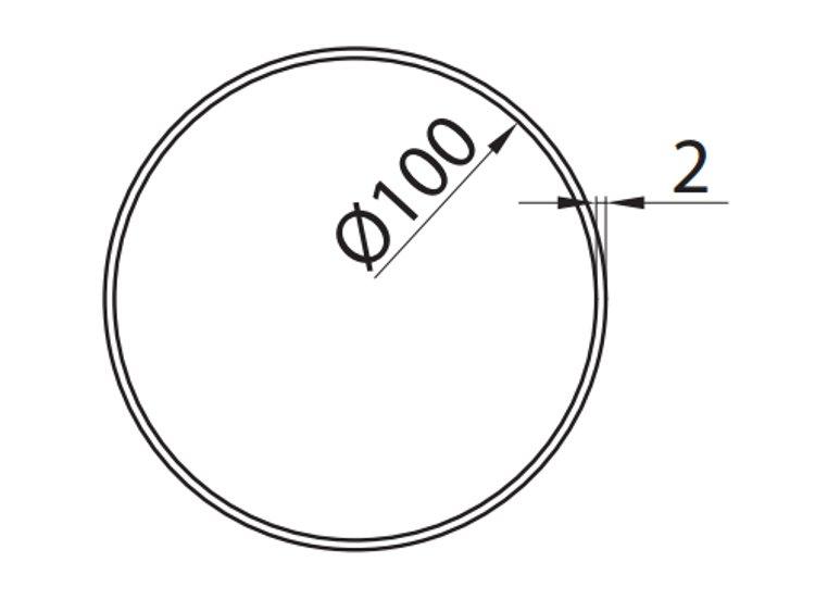 Rura-okragla-fi-10-cm-0-5-m-kod-150-4-rysunek-techniczny-globalo-pl