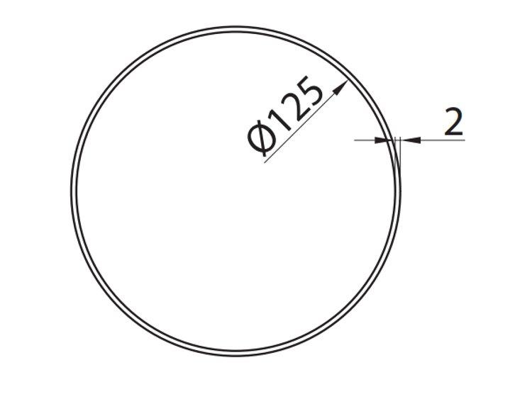 Rura-okragla-fi-12-5-cm-1-m-kod-1100-5-rysunek-techniczny-globalo-pl