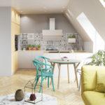 Przyscienny-skosny-okap-kuchenny-globalo-mirida-90-white-wizualizacja-1