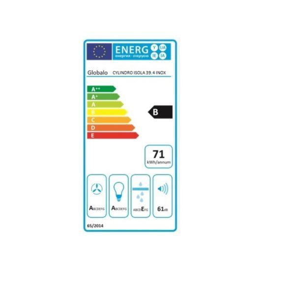 Etykieta-energetyczna-Cylindro-Isola-39.4-Inox
