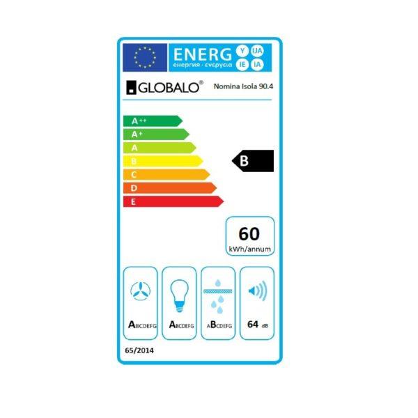 Okap_wyspowy-globalo-Nomina-Isola-90-4-sensor-etykieta