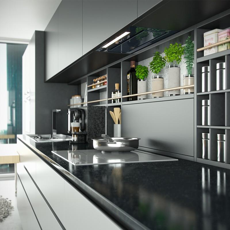 pochlaniacz kuchenny globalo loteo 60 grey